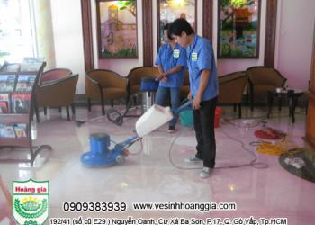 Dịch vụ vệ sinh công nghiệp tại Tân Phú